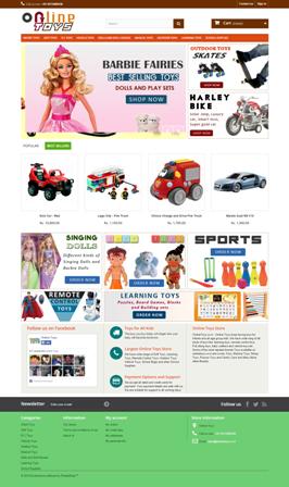Toys - E-Commerce Website